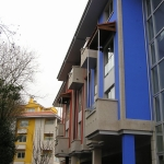 Decoración de Fachada Azul